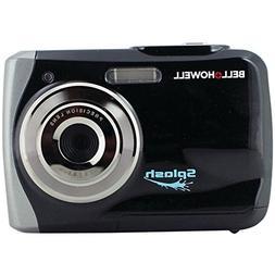 Black Waterproof Digital Camera Bell+Howell WP7 12.0MP Splas
