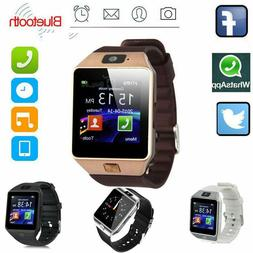 Bluetooth Smart Watch w/Camera Waterproof Phone Mate for And