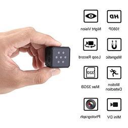 Botrong Mini Camera 1080P HD Night Vision Heat Dissipation S