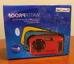 "PowerLead BP88 Camera Waterproof Digital Video Camera 2.7"" T"