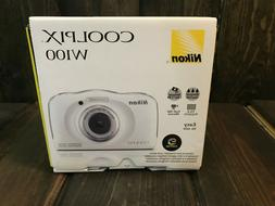BRAND NEW Nikon COOLPIX W100 13.2 MP Digital Camera - Waterp
