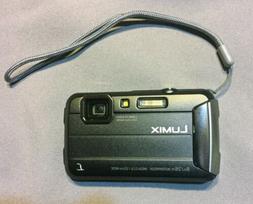 Brand New Panasonic LUMIX DMC-TS30 Black Digital Camera Seal