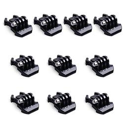 QKOO Accessories Kit for GoPro HERO 7  6 5 4 3+ 3 2 Black Si