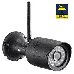 Rukerway Bullet Camera Waterproof IP66 Ourtoor IP Camera Wif