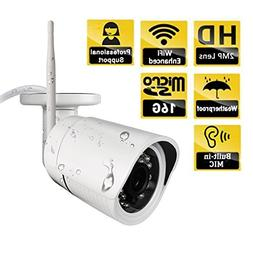 Ouvis C2 Pro HD Waterproof WiFi Outdoor Wireless Security Ca