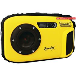 Coleman C9Wp-Y Xtreme3 20 Mp Waterproof Digital Camera With