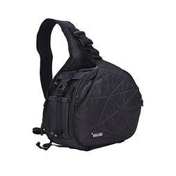 Andoer CADeN K2 Triangle DSLR Camera Bag Cross Sling Carry C