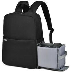 CADeN Camera Bag Backpack Black Grey Waterproof  for DSLR Mi
