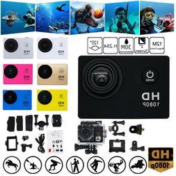camera hd 1080p sport action camera dvr