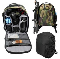 DURAGADGET Camouflage Water-Resistant Backpack with Customiz