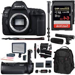 Canon EOS 5D Mark IV Full Frame Digital SLR Camera Body, Can