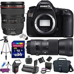 Canon EOS 5DS 50.6 MP Digital SLR Camera w/ EF 24-105mm f/4L