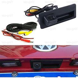 Car Trunk Handle CCD Rear View Parking Camera For VW Tiguan