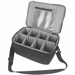 Koolertron Camera Case DSLR Camera Insert Bag Purse Universa