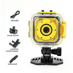 Jeda kids Waterproof Camera with Video Recorder 1080P Sports