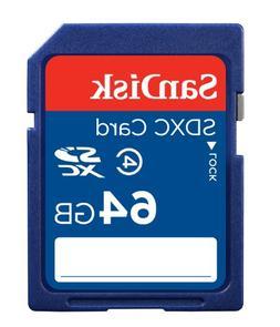 class 4 sdxc memory card