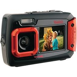 Coleman Duo2 2V9WP-R 20 MP Waterproof Digital Camera with Du