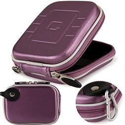 Compact Camera Case Bag Pouch Purse, Protective Hard EVA Tra