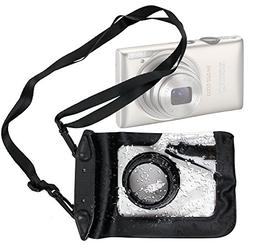 DURAGADGET Compact Camera Case in Black for Canon PowerShot