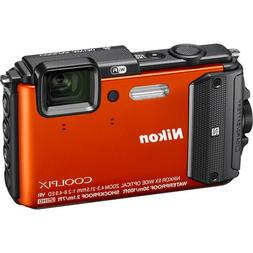 Nikon Coolpix AW130 16.0-Megapixel Waterproof Digital Camera