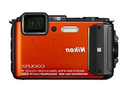 Nikon COOLPIX AW130 Digital Cameras - Orange