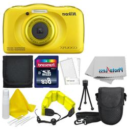 Nikon COOLPIX W100 13.2 MP Waterproof Digital Camera  + Top