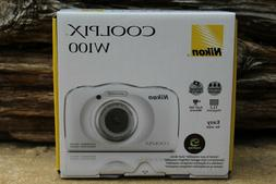 Nikon Coolpix W100 Wi-Fi Shockproof Waterproof Digital Camer