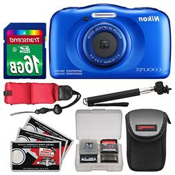 Nikon Coolpix W100 Wi-Fi Shock & Waterproof Digital Camera