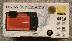 Nikon COOLPIX W300 16.0MP WaterProof/ShockProof 4K Digital C