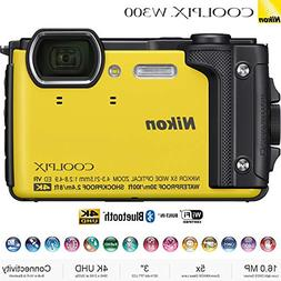 Nikon COOLPIX W300 16MP 4k Ultra HD Waterproof Digital Camer