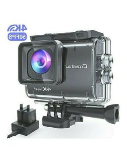 Crosstour CT9500 Native 4K50FPS Action Camera 20MP WiFi Wate