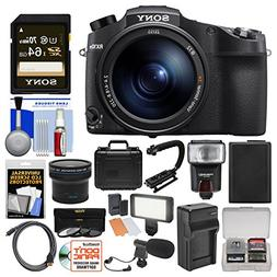 Sony Cyber-Shot DSC-RX10 IV 4K Wi-Fi Digital Camera with 64G