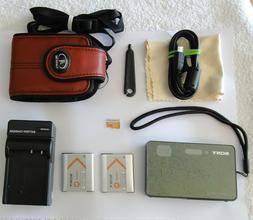 Sony Cybershot DSC-TX200V 18.2 MP GPS Waterproof Pocket Came