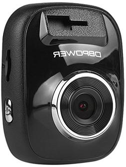 """DBPOWER D104 1.5"""" Dash Cam, 120° Wide Viewing Angle 1080P C"""