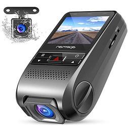 APEMAN Dash Cam Dual Dash Camera Car DVR Dashboard Recorder