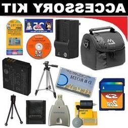 2GB DB ROTH Deluxe Accessory kit For The Nikon Coolpix S10,