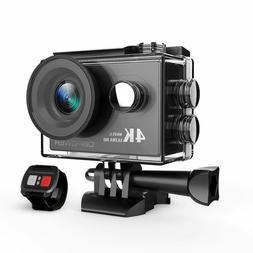 DBPOWER 4K Action Camera 12MP Ultra HD Waterproof+Built-in W