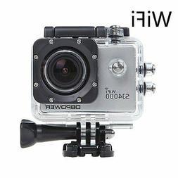 DBPower Waterproof Action Camera 12mp 1080p HD