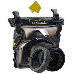 DiCAPac Waterproof Case for Canon Nikon Sony Olympus Panason