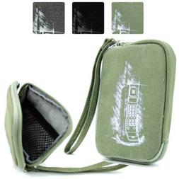 Digital Camera Protective Zipper Canvas Pouch Case FSLMRV-19
