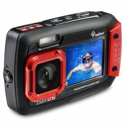 Digital Camera Video Ivation 20MP Underwater Waterproof Shoc