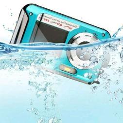 Digital Camera/Video Waterproof 24MP MAX 1080P Double Screen
