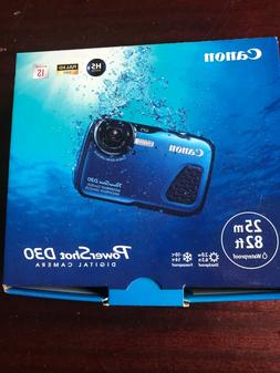 digital waterproof camera power shot d30 5x