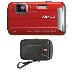 Panasonic DMC-TS30R LUMIX Active Lifestyle Tough Camera  + S