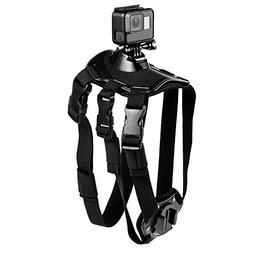Suptig Dog Harness Chest Strap Belt Mount for GOPRO Hero 6 H