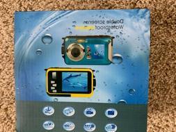 CEDITA Double Screen DH Waterproof Camera 24MP 16x Digital Z