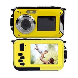 Underwater Camera Full HD 1080P Waterproof Digital Camera 24