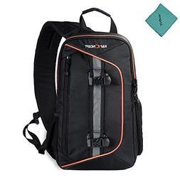 K&F Concept Digital DSLR Camera Bag Backpack Case Travel Sli