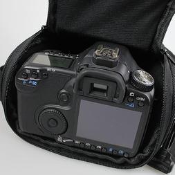 DSLR <font><b>Camera</b></font> Bag Fashion Shoulder Cross D