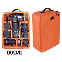 A-mode DSLR Large Capacity Camera Luggage insert waterproof